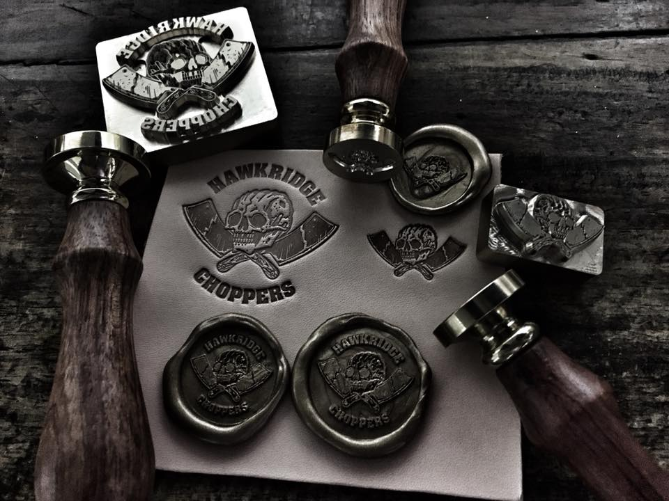 Standard customize wax seal stamp (only stamp head and wooden handle) - Hexnhit